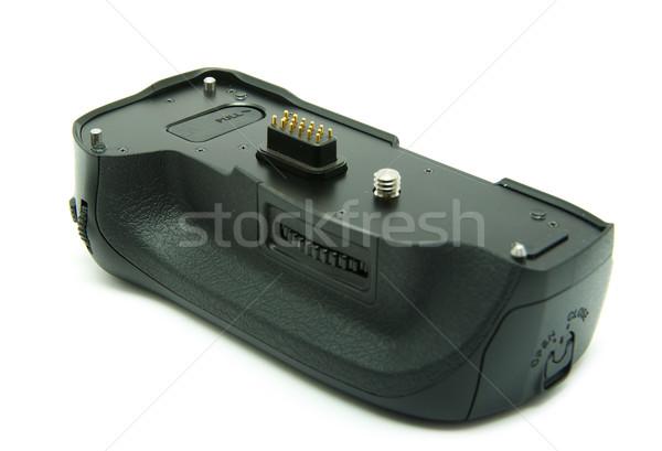 Bateria dslr câmeras branco Foto stock © Pakhnyushchyy
