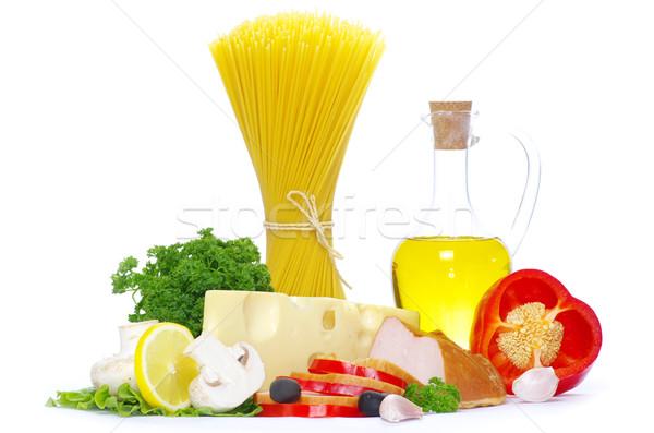 bacon and vegetable Stock photo © Pakhnyushchyy
