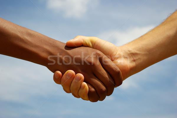 handshake Stock photo © Pakhnyushchyy