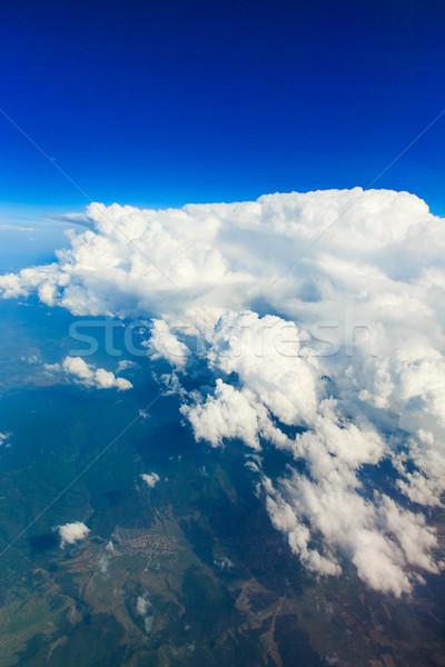 雲 青空 空 風景 夏 青 ストックフォト © Pakhnyushchyy