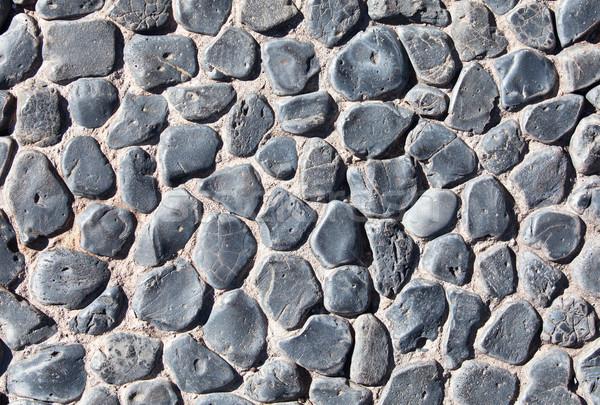 石 テクスチャ 細部 砂 インテリア 階 ストックフォト © Pakhnyushchyy