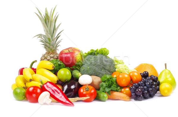 野菜 新鮮な野菜 果物 白 食品 緑 ストックフォト © Pakhnyushchyy