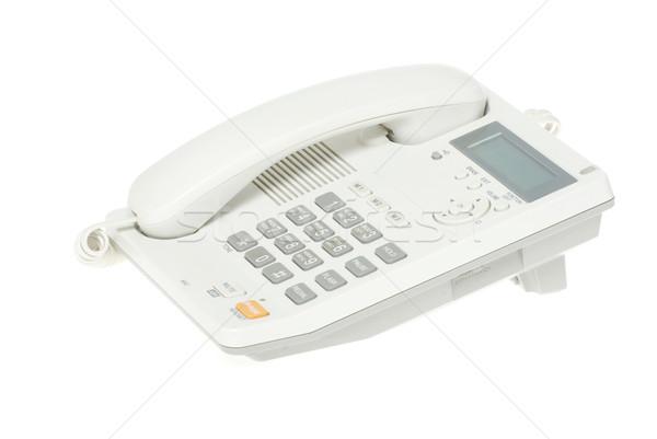 telephone on a white   Stock photo © Pakhnyushchyy