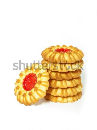 baked cookies Stock photo © Pakhnyushchyy
