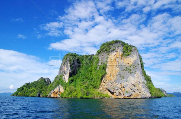Stok fotoğraf: Kayalar · deniz · krabi · su · manzara · okyanus