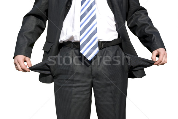 бизнесмен пусто бизнеса человека тело Сток-фото © Pakhnyushchyy