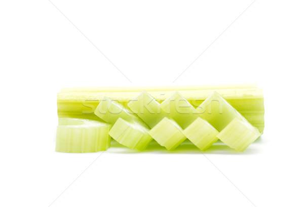 Sedano bianco alimentare foglia salute sfondo Foto d'archivio © Pakhnyushchyy