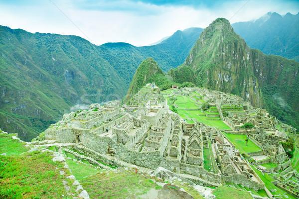 Unesco monde patrimoine ville paysage Photo stock © Pakhnyushchyy