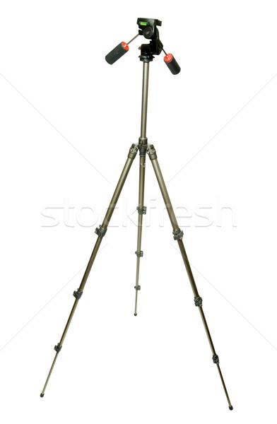 Stativ Kamera weiß Tool Schatten Schraube Stock foto © Pakhnyushchyy