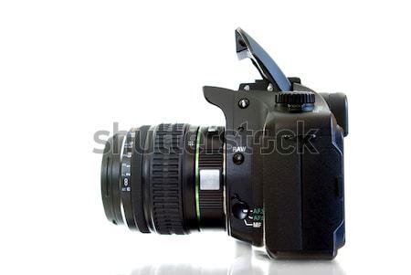 Kamera fotó izolált fehér test technológia Stock fotó © Pakhnyushchyy