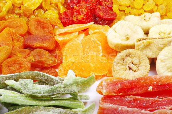 Assortiment séché fruits alimentaire fond Photo stock © Pakhnyushchyy