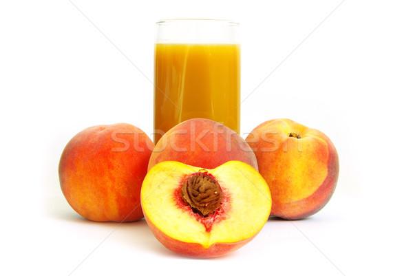 peach juice  Stock photo © Pakhnyushchyy