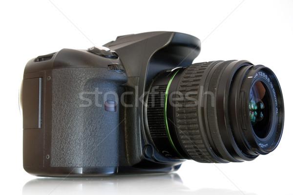 Kamera digitális fotó izolált fehér test Stock fotó © Pakhnyushchyy