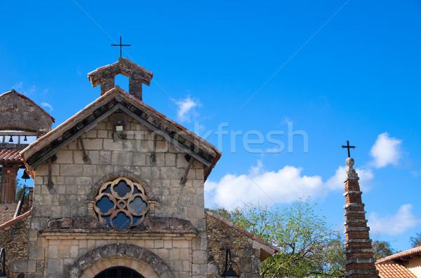 Old church  Stock photo © Pakhnyushchyy