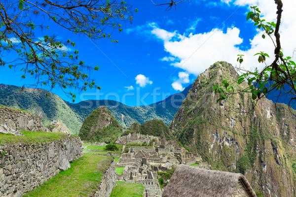 Machu Picchu , Peru Stock photo © Pakhnyushchyy