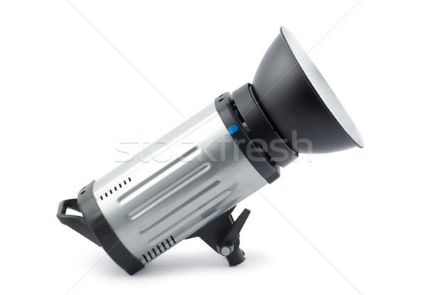 Stüdyo stroboskop beyaz ışık lamba güç Stok fotoğraf © Pakhnyushchyy