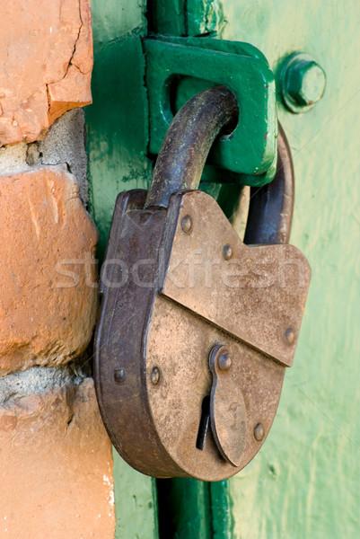 old metal lock Stock photo © Pakhnyushchyy