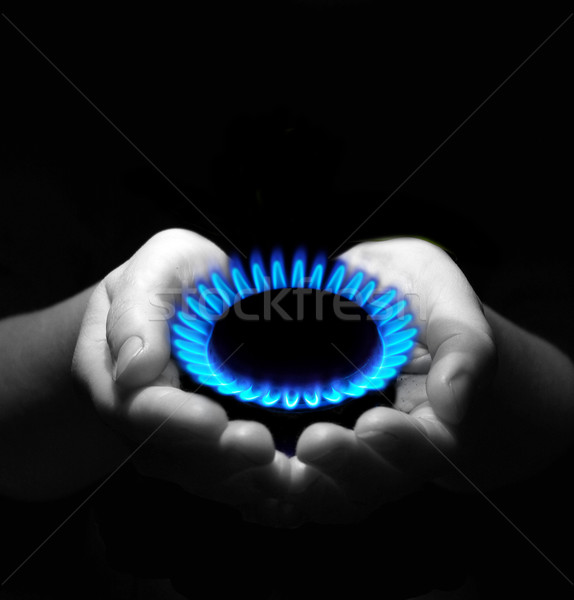 Stock photo: gas