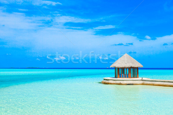 sea in Maldives Stock photo © Pakhnyushchyy