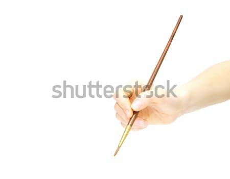 pen in hand  Stock photo © Pakhnyushchyy