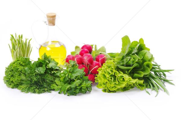 ハーブ 油 白 健康 キッチン 緑 ストックフォト © Pakhnyushchyy