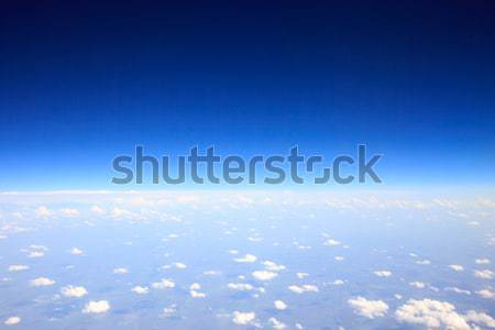 Cielo nubi spazio skyline colore Foto d'archivio © Pakhnyushchyy