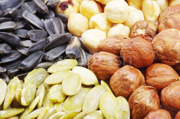 seeds and nuts Stock photo © Pakhnyushchyy