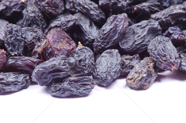 Kuru üzüm yalıtılmış beyaz gıda sağlık siyah Stok fotoğraf © Pakhnyushchyy