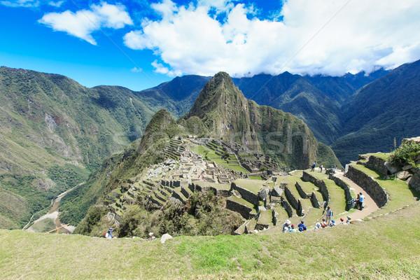 Machu Picchu Stock photo © Pakhnyushchyy