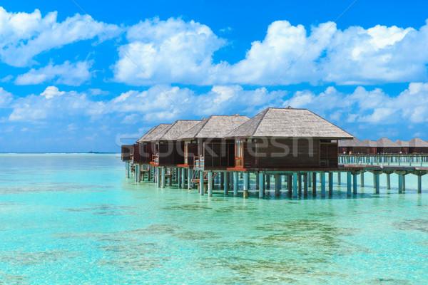 Spiaggia acqua natura panorama mare estate Foto d'archivio © Pakhnyushchyy