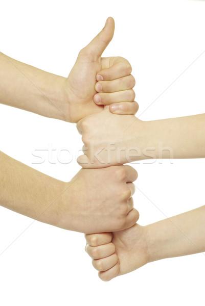 clenched fists Stock photo © Pakhnyushchyy
