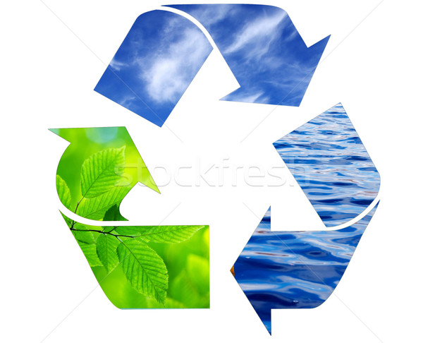 recycling symbol  Stock photo © Pakhnyushchyy