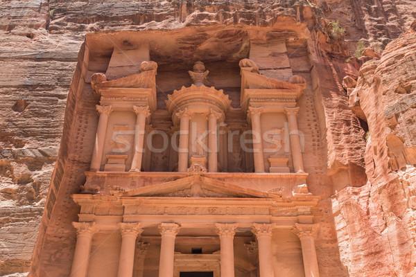 Cidade deserto viajar vermelho cultura templo Foto stock © Pakhnyushchyy