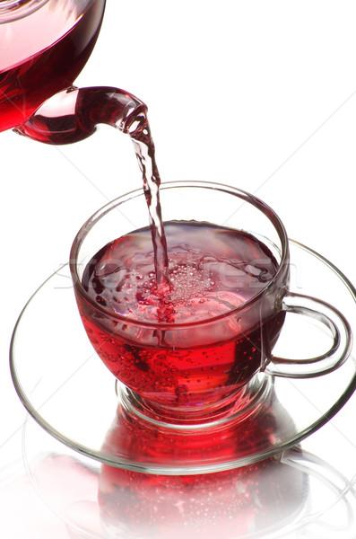 чай стекла зеленый жидкость объект Сток-фото © Pakhnyushchyy