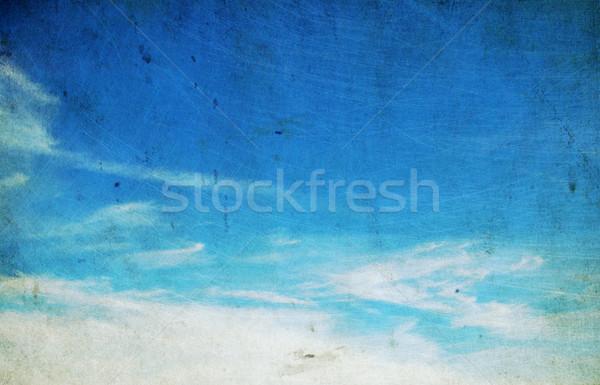 Retro texture nubi muro abstract natura Foto d'archivio © Pakhnyushchyy