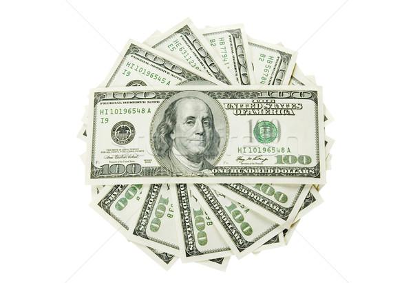 Money on  white Stock photo © Pakhnyushchyy