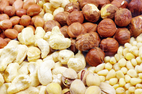 various nuts  Stock photo © Pakhnyushchyy
