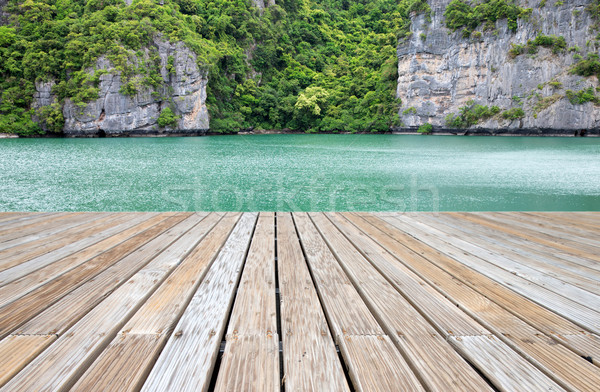 lagoon  Stock photo © Pakhnyushchyy