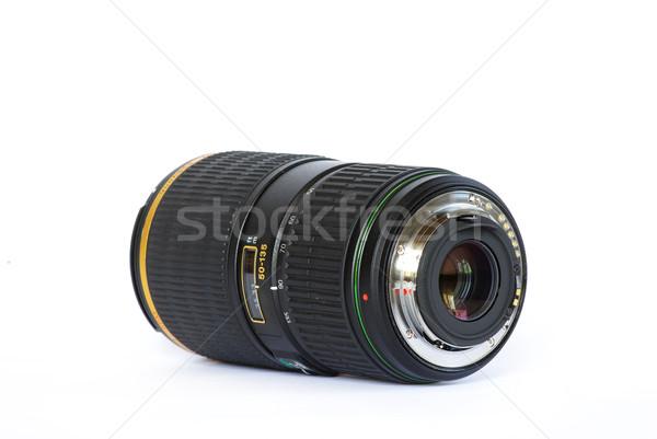 Czarny odizolowany biały film technologii Zdjęcia stock © Pakhnyushchyy