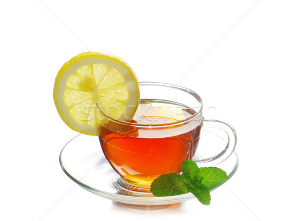 Teáscsésze tea üveg ital forró tárgy Stock fotó © Pakhnyushchyy