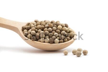 white peppercorns  Stock photo © Pakhnyushchyy