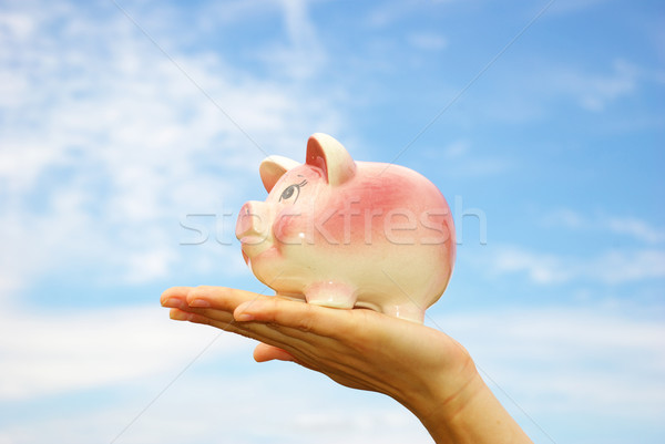 piggy bank Stock photo © Pakhnyushchyy