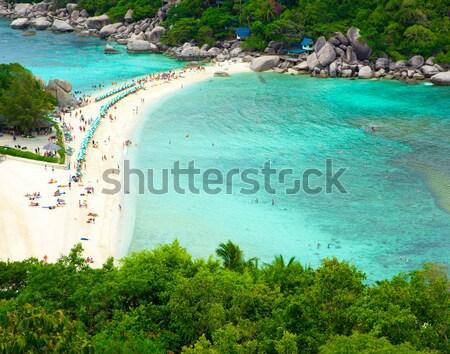 Foto stock: Ilha · Tailândia · céu · mar · beleza · oceano