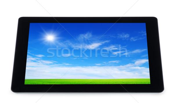 tablet computer  Stock photo © Pakhnyushchyy