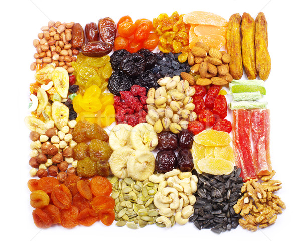 dried fruits Stock photo © Pakhnyushchyy