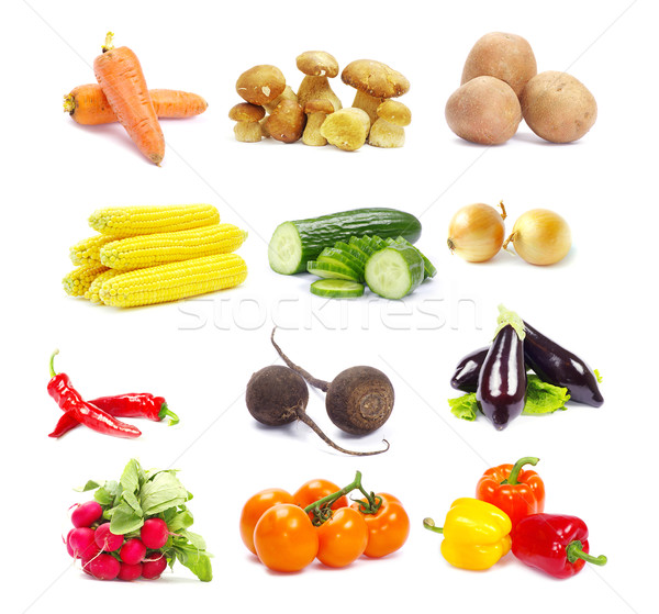 Stock photo: collection vegetables