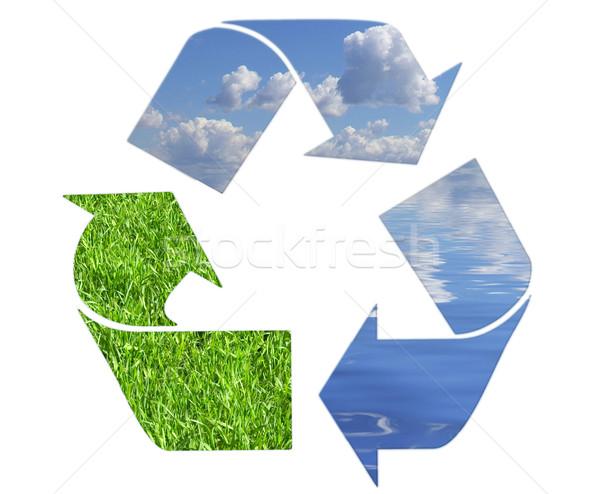 recycling symbol  Stock photo © Pakhnyushchyy