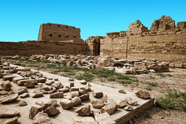 Starożytnych ruiny świątyni sztuki architektury boga Zdjęcia stock © Pakhnyushchyy