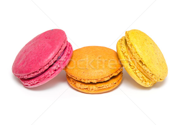 Francese dolce delicatezza varietà primo piano fragola Foto d'archivio © Pakhnyushchyy