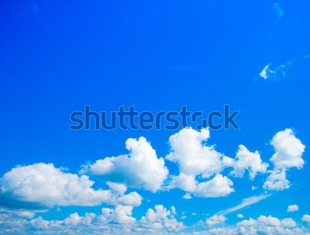 Blauwe hemel wolk hemel Blauw kleur Stockfoto © Pakhnyushchyy